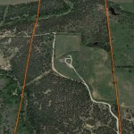 Aerial Map – Scenic 120 Acre Hunting Property, Parker County, Texas – SOLD