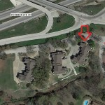 Aerial Map –  Clear Creek Townhouse 2150 Lakeforest Dr., Weatherford, Parker County, TX 76087
