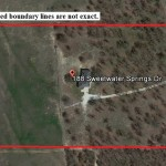 Aerial Map – 15.11 Acres with home, 188 Sweetwater Springs Drive, Poolville, Parker County, TX