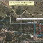Aerial Map – 26.52 Acres on the Brazos River, Palo Pinto County, Texas