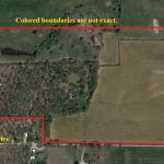 Aerial Map – 61.1 Acres with Older Home 1221 FM Rd 113 South Millsap, TX 76066