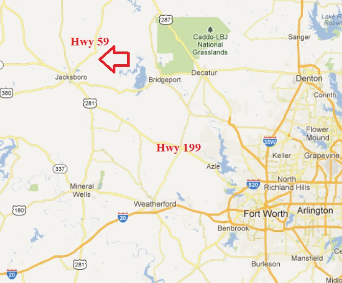 Map Of Jacksboro Texas.650 Ac Ene Of Jacksboro Texas Sold Coalson Real Estate