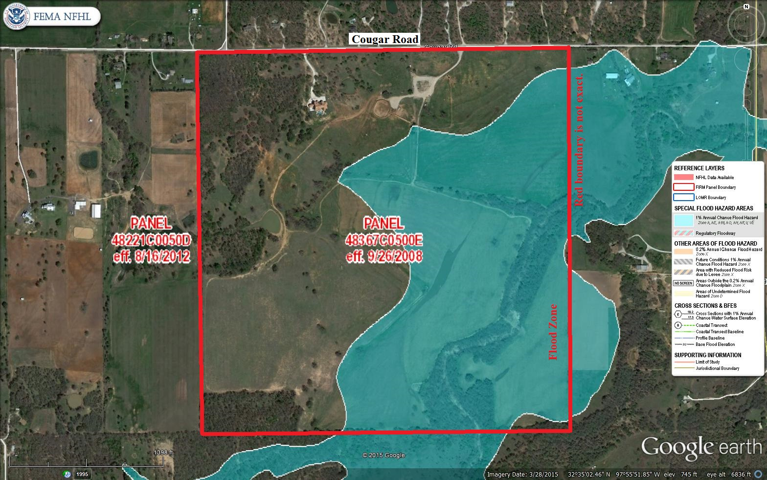 Aerial Map Flood Zone - 268 Acre Gorgeous property @ 801 ...