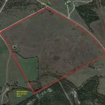 General Map – 116 Acre Scenic Recreational & Hunting Property, South Acton, Johnson County, TX – SOLD