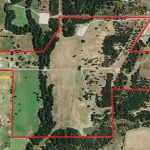 Aerial Map – 272.5 Acre Ranch & Luxury Home, S/W Weatherford, Texas