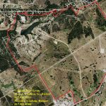 Aerial Map – 816.6 Acre Ranch, between Weatherford & Granbury, Texas